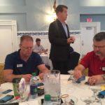 busy participants at Leadership Summit 2016
