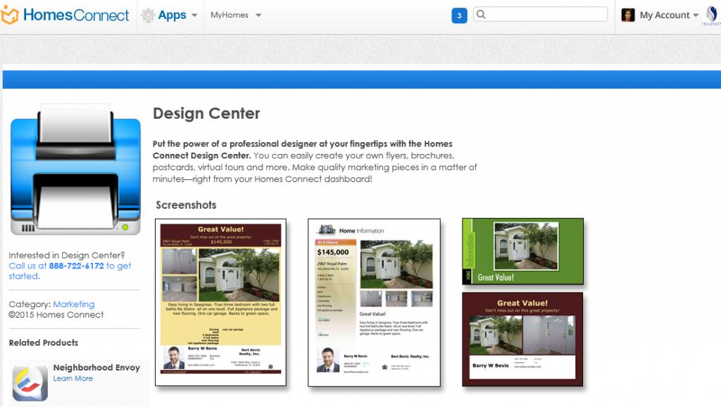 Design Center screenshot