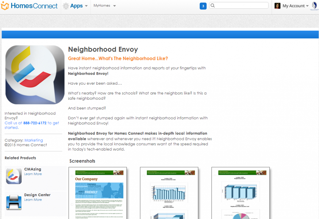 Neighborhood Envoy screenshot