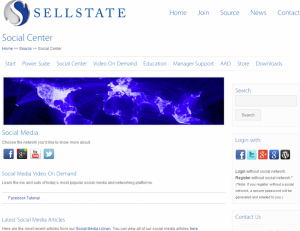 Social Center Screenshot