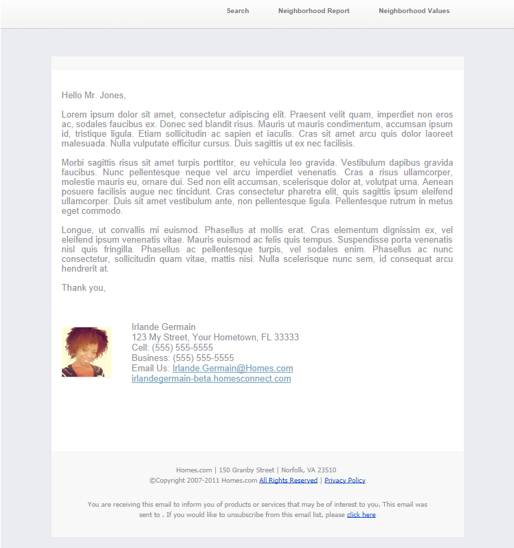 auto response email
