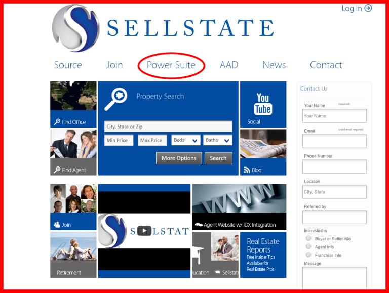 screenshot sellstate log in