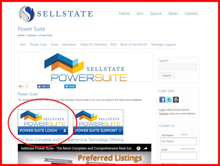 screenshot sellstate powersuite